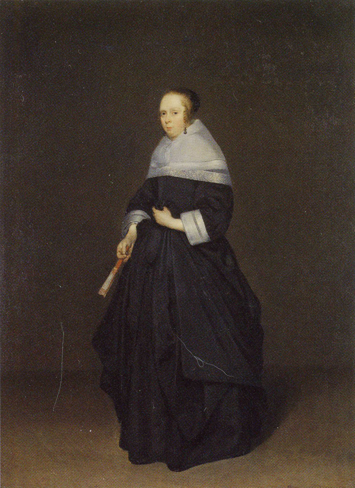 Gerard ter Borch - Portrait of a Lady