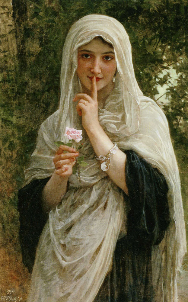 William-Adolphe Bouguereau - The Secret