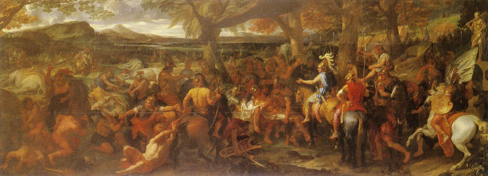 Charles Le Brun - Alexander and Porus