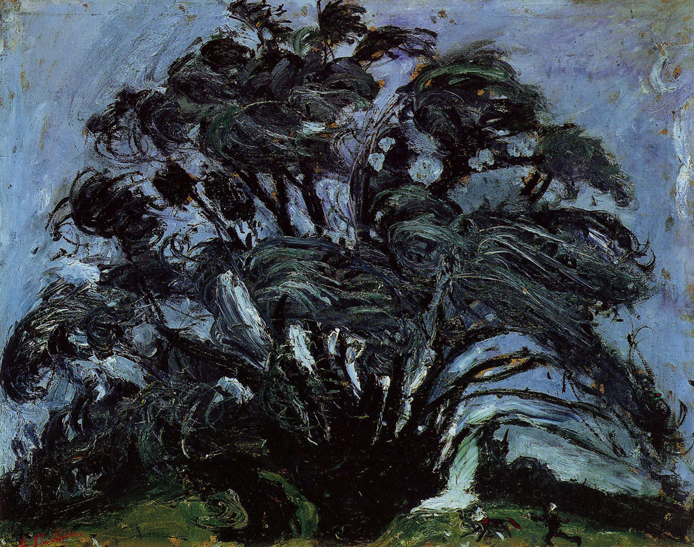Chaim Soutine - Tree in the Wind