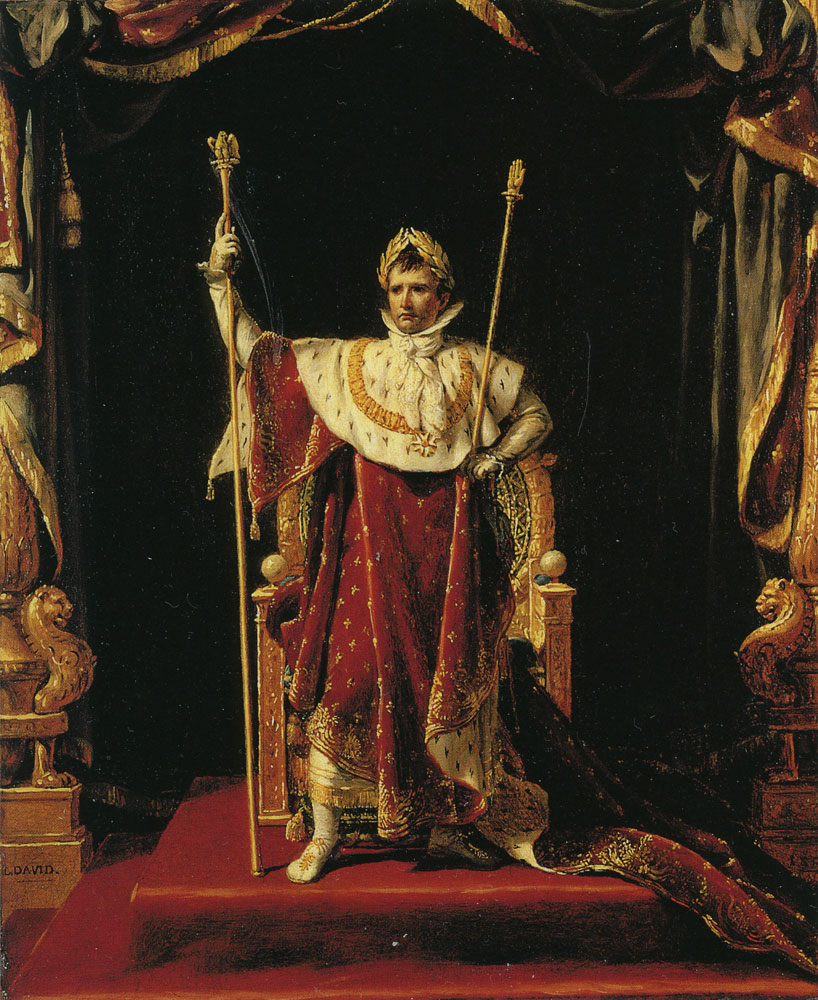 Jacques-Louis David - Napoleon I in his Imperial Robes