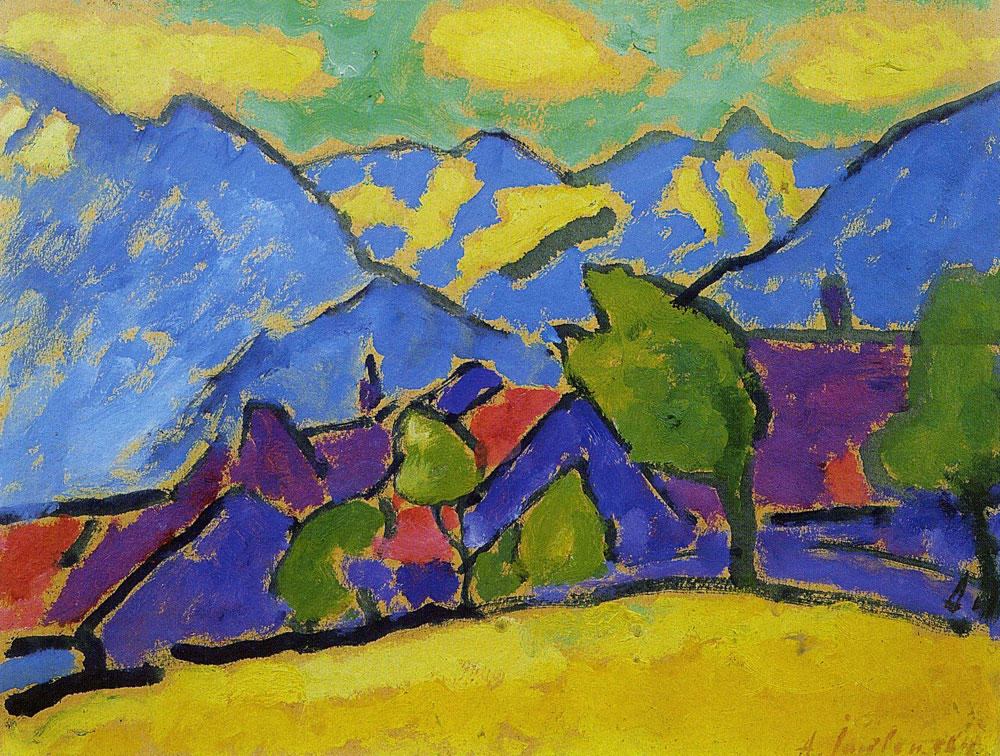 Alexej von Jawlensky - Yellow sound