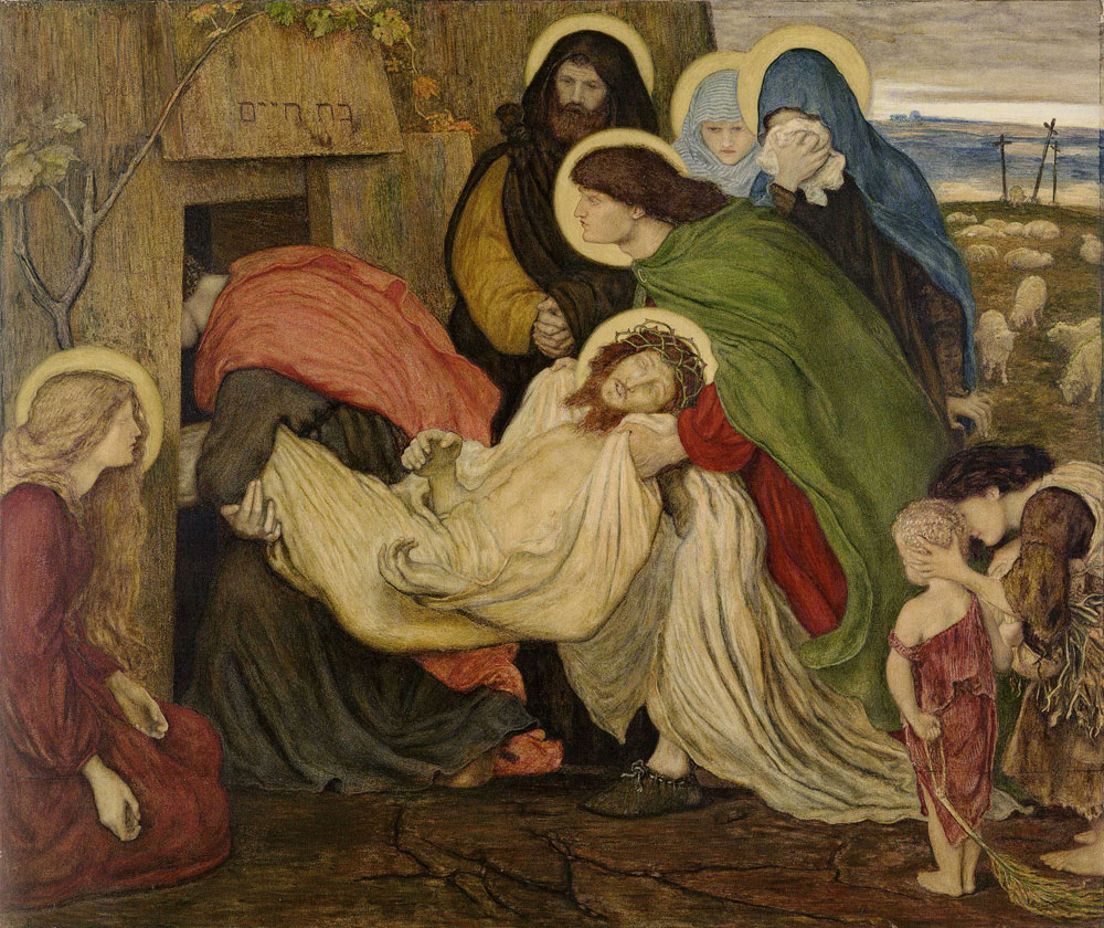 Ford Madox Brown - The Entombment