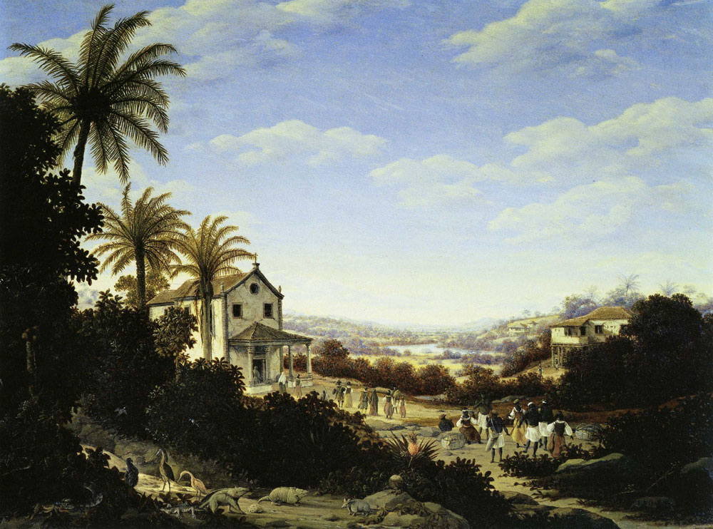 Frans Post - Chapel with Portico