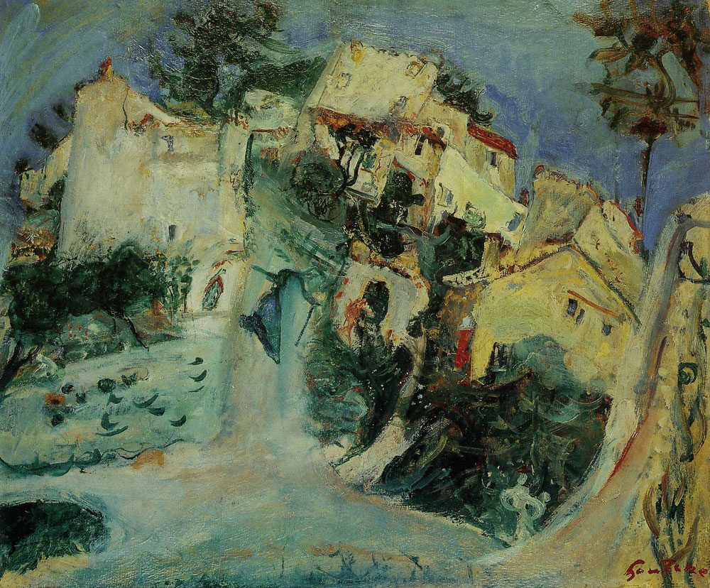 Chaim Soutine - Landscape at Cagnes