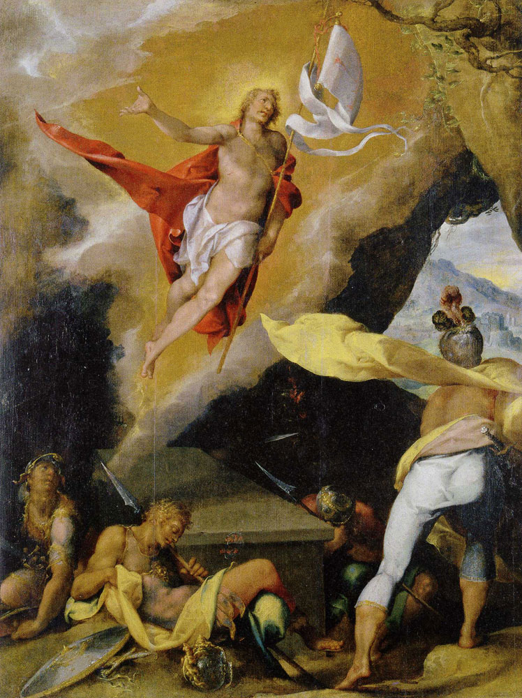 Bartholomeus Spranger - The Resurrection of Christ