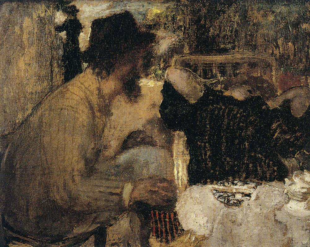 Edouard Vuillard - Afternoon Tea - I