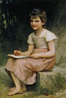 William-Adolphe Bouguereau - A Calling
