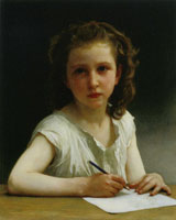 William-Adolphe Bouguereau A Calling