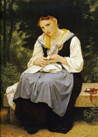 William-Adolphe Bouguereau - Young Worker