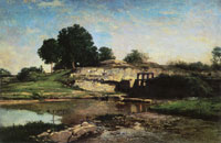 Charles-François Daubigny The Lock of Optevoz