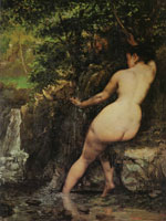Gustave Courbet The Source