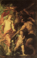 Anthony van Dyck Venus at the Forge of Vulcan