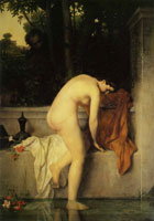 Jean-Jacques Henner Susannah at the Bath