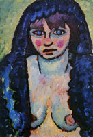 Alexej von Jawlensky - Portrait of a woman