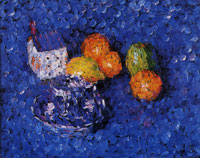 Alexej von Jawlensky - Still-life blue-orange