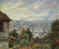 Maximilien Luce View from Montmartre