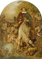 Ford Madox Brown Cromwell on his Farm
