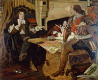 Ford Madox Brown - Cromwell, Protector of the Vaudois