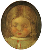 Ford Madox Brown Lucy Madox Brown, asleep