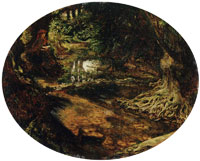 Ford Madox Brown - A Study on the Brent at Hendon