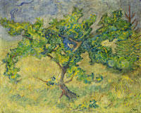 Franz Marc Little Oak Tree
