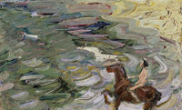 Franz Marc Rider by the Sea