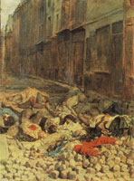 Jean-Louis Meissonier The Barricade: Rue de la Mortellerie June 1848