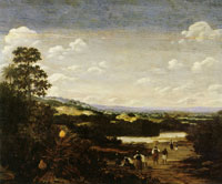 Frans Post Sugar Mill with River