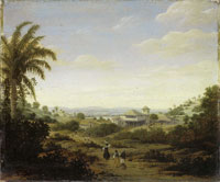 Frans Post - Sugar Mill with Towered House