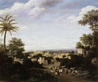 Frans Post Village in Ruins