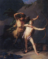 Jean-Baptiste Regnault The Education of Achilles by the Centaur Chiron