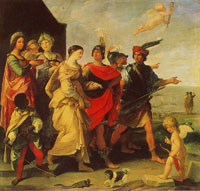 Guido Reni The Abduction of Helena