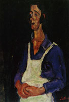 Chaim Soutine French Cook