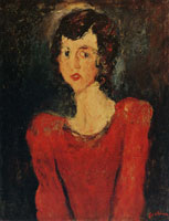 Chaim Soutine Woman in Red
