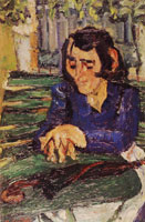 Chaim Soutine - Woman with Umbrella