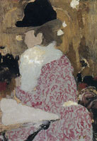 Edouard Vuillard At the Café-Concert