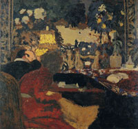 Edouard Vuillard In Front of the Tapestry