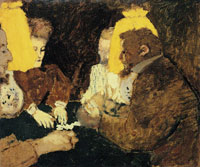 Edouard Vuillard The Game of Cards