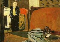 Edouard Vuillard Marie Looking under the Bed