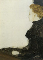 Edouard Vuillard Marie Seen in Profile