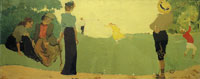 Edouard Vuillard - The Game of Shuttlecock