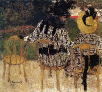 Edouard Vuillard Square de la Trinite or Two Women in a Public Garden