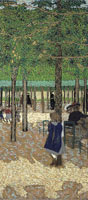 Edouard Vuillard Under the Trees