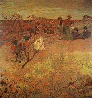 Edouard Vuillard A Walk in the Vineyard