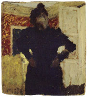 Edouard Vuillard Woman Standing, Hands on Hips