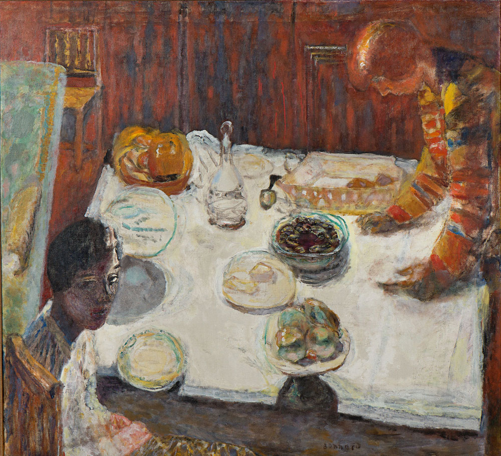 Pierre Bonnard - The White Tablecloth