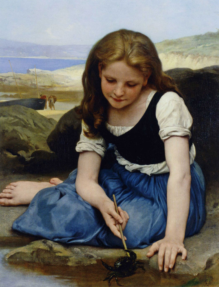William-Adolphe Bouguereau - The Crab