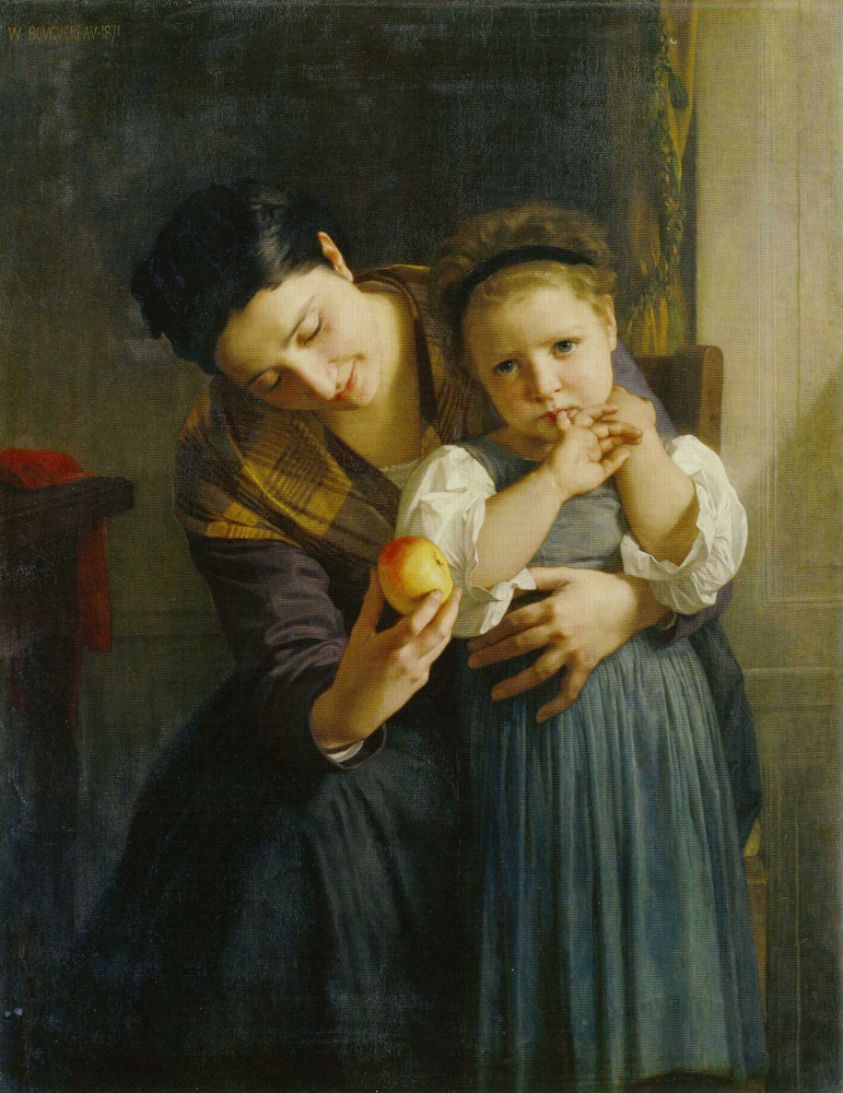 William-Adolphe Bouguereau - The Two Sisters
