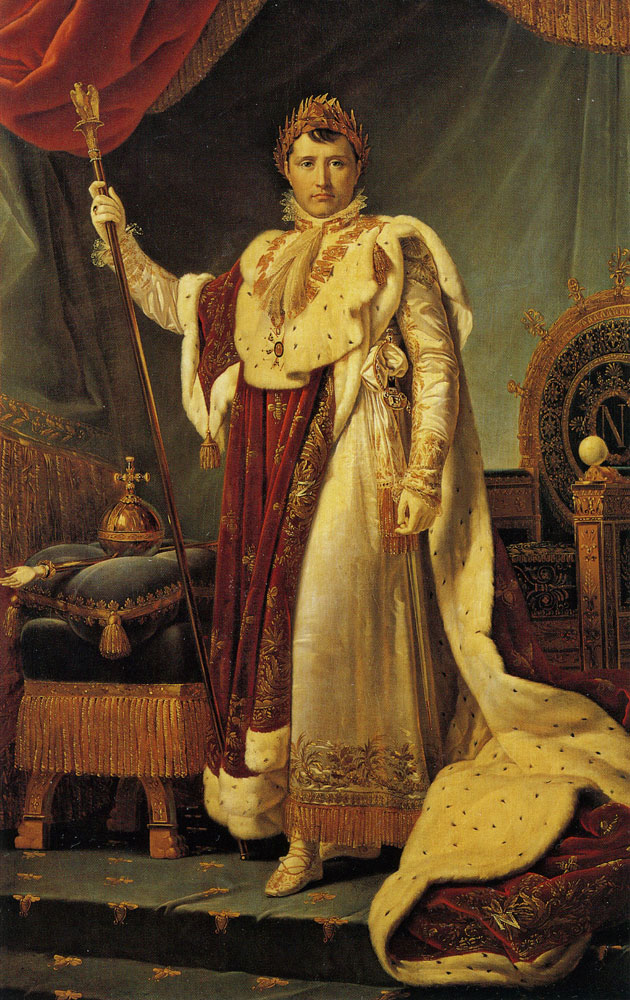 François Gérard - Napoleon I in his Imperial Robes